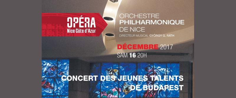 Concert des jeunes talents de Budapest