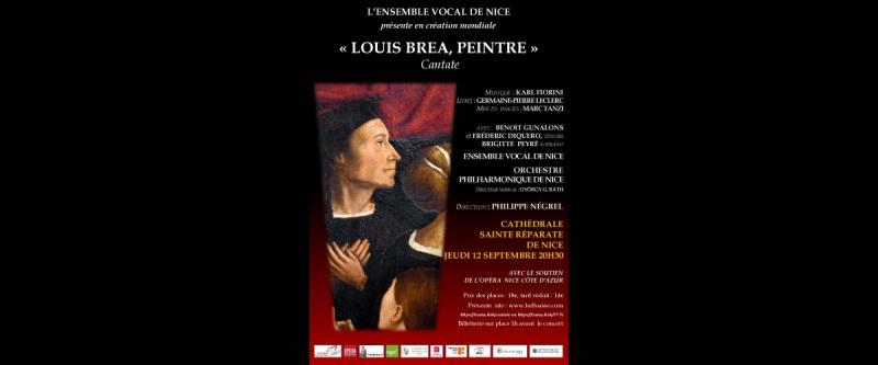 Concert Louis Brea, peintre