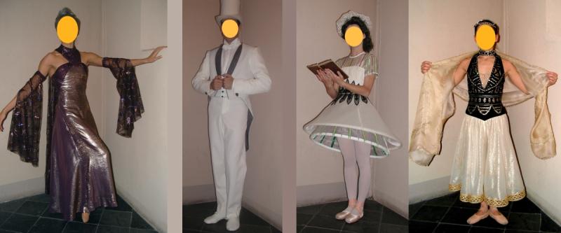 Des costumes de scène aux enchères