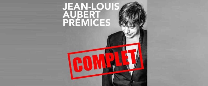 Jean-Louis Aubert à l'Opéra le 5 novembre
