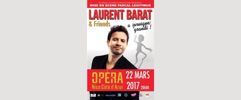 Laurent Barat à l'Opéra de Nice le 22 mars