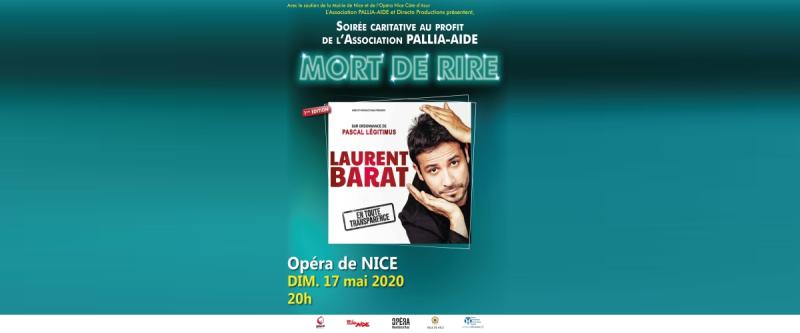 Grande soirée Mort de Rire - Laurent Barat
