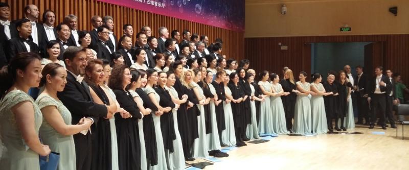 Le Chœur de l'Opéra en tournée en Chine