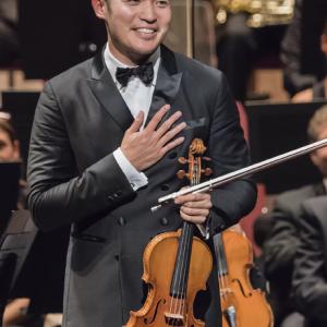 Concert avec Ray Chen (sept 2016) © Opéra de Nice