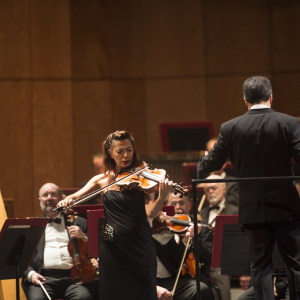 Concert avec Magali Prévot, direction Jacsques Lacombe (déc 2015) © Opéra de Nice