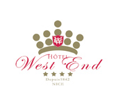 Logo de l'Hôtel West End
